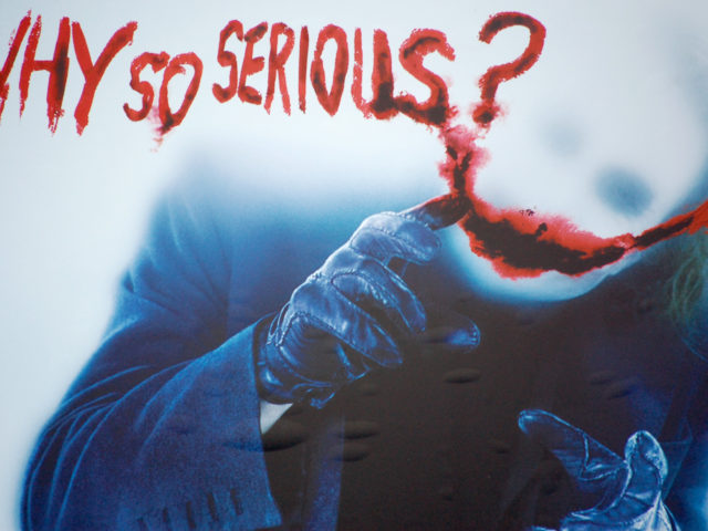 Why So Serious? Wallpaper