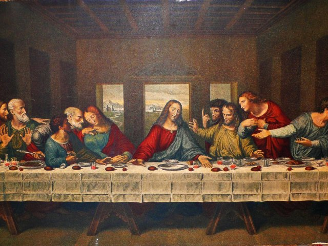 The Last Supper Wallpaper