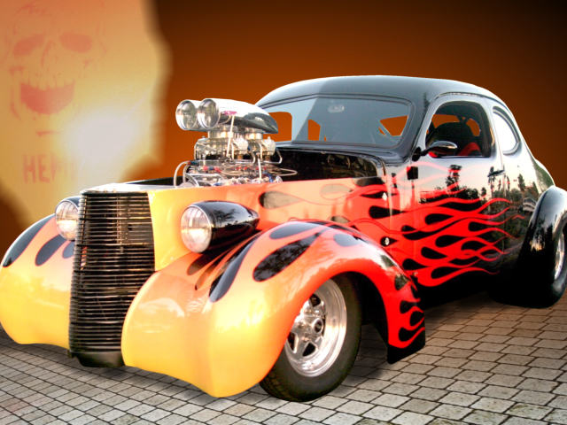 Hot Rod Wallpaper