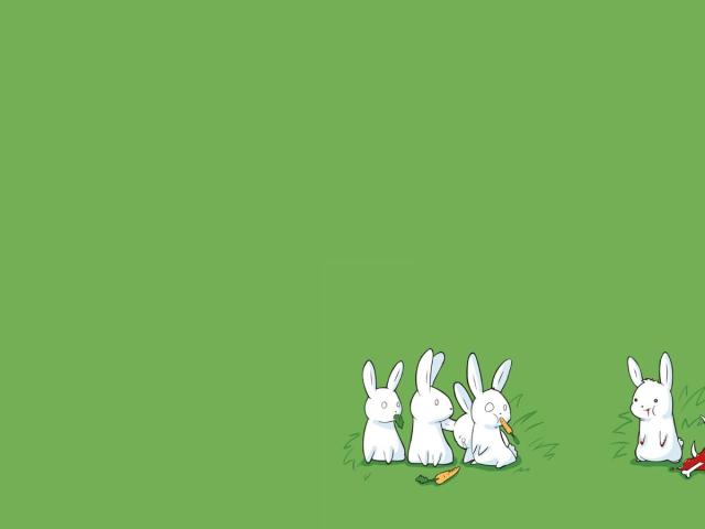 Nonconformist Rabbit Wallpaper