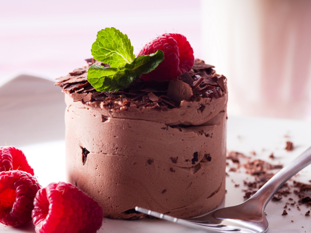 Chocolate Mousse Wallpaper