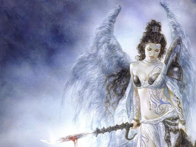 Luis Royo Wallpaper