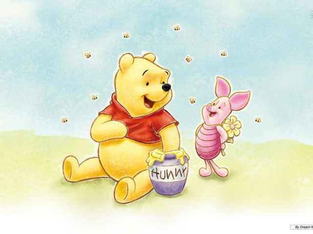 Pooh And Piglet Wallpaper