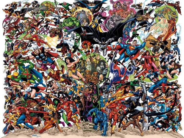 Epic Superhero Wallpaper