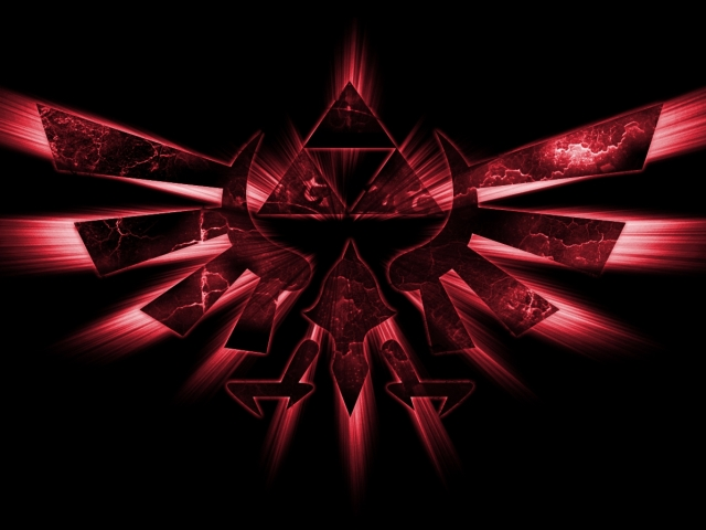 Emblem In Red Wallpaper