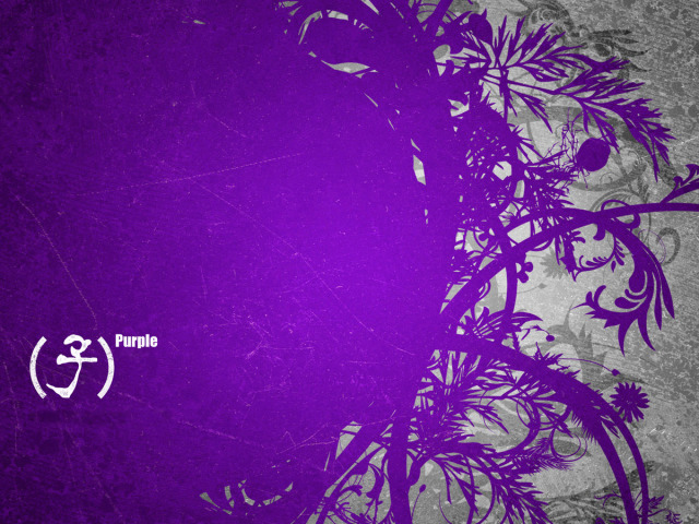 Purple Artistic Wallpaper